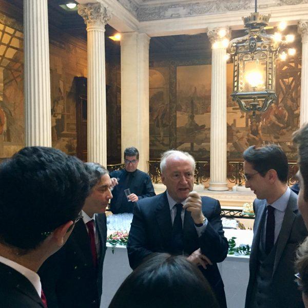 Conférence de Hubert Védrine en Sorbonne « L'idée européenne en 2019 »