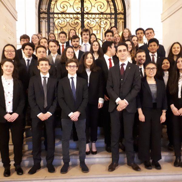 Séminaire des 40 ans de l'IFRI en Sorbonne, mercredi 10 avril 2019