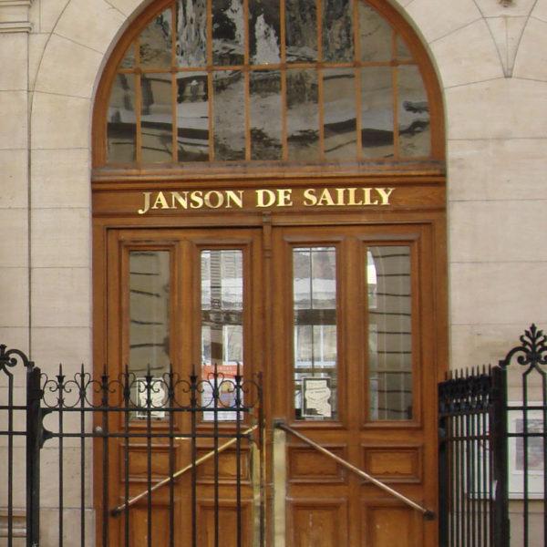 Visite du lycée Janson de Sailly par le Groupe Histoire et Patrimoine