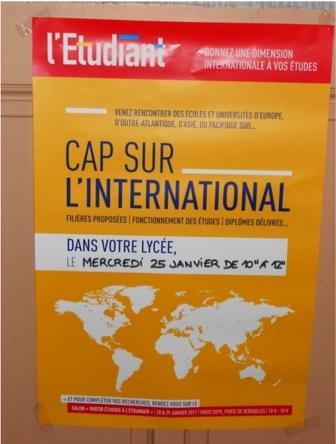 Cap sur l'international