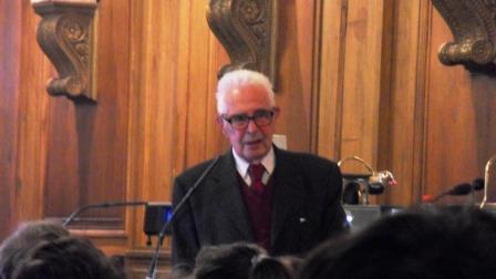 Conférence à l'Institut de France de M. Jean-Pierre Kahane
