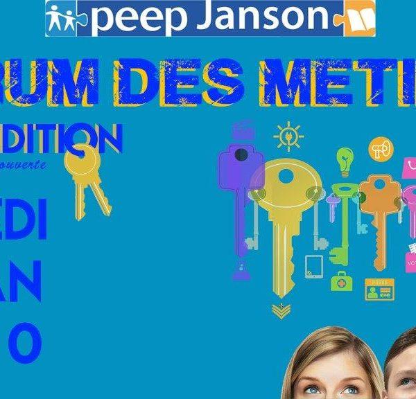Forum des métiers organisé par la PEEP