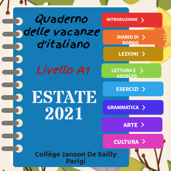 Cahiers de vacances italien